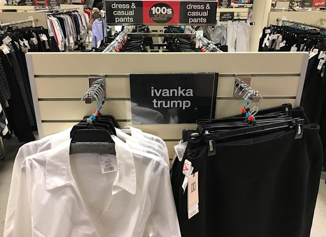 Despite the #GrabYourWallet campaign that called for a boycott of Donald Trump's daughter brand, the clothing line reported a surge in sales.