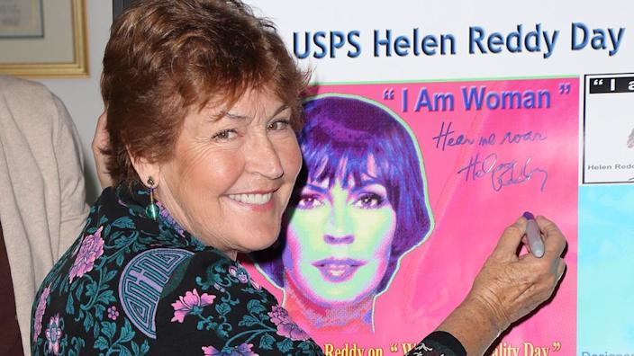 Helen Reddy shot her fame in the 70's