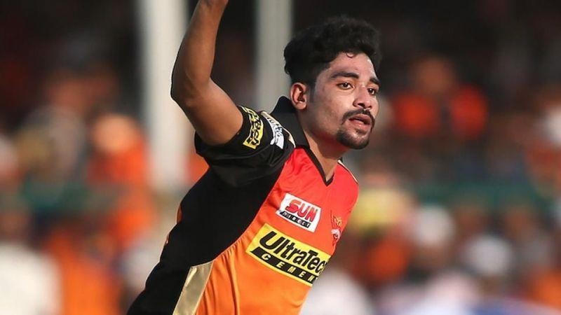 The 23-year-old has already created a strong impression with his smooth bowling action and an effective bouncer