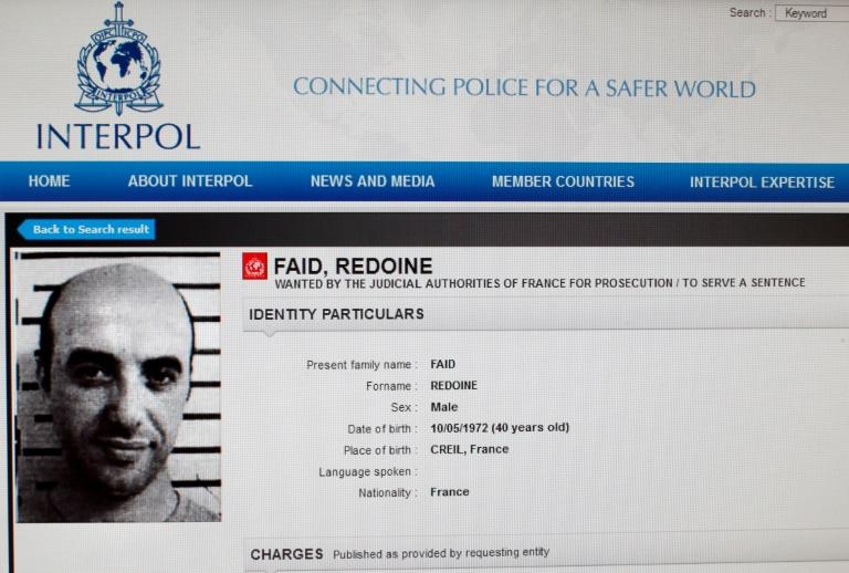 Faid, a career criminal with multiple convictions for armed robbery, was sprung from the prison in Reau, 50 kilometres (30 miles) southeast of Paris