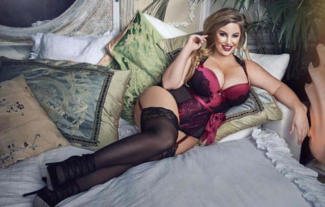 Ashley Alexiss says sexy lingerie makes her feel more confident. (Photo courtesy of Lovehoney Lingerie)
