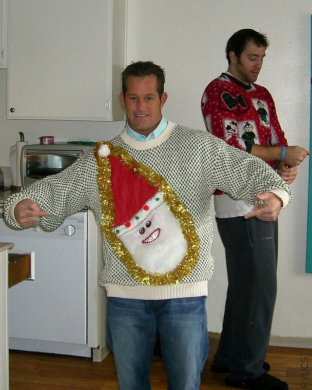 """<div class=""""caption-credit""""> Photo by: Rock Your Ugly Christmas Sweater</div>This guy!"""