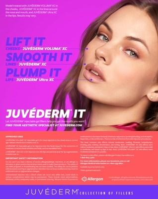 Allergan Launches New JUVÉDERM® IT Campaign Designed To