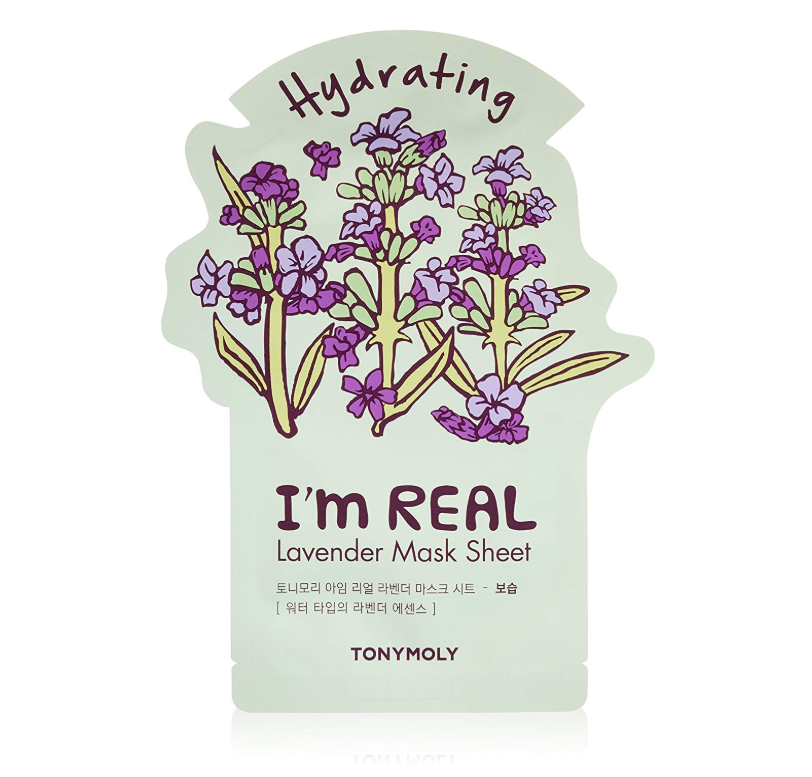 """<p><strong>TONYMOLY</strong></p><p>amazon.com</p><p><strong>$3.00</strong></p><p><a href=""""https://www.amazon.com/dp/B072MTQP34?tag=syn-yahoo-20&ascsubtag=%5Bartid%7C10055.g.411%5Bsrc%7Cyahoo-us"""" rel=""""nofollow noopener"""" target=""""_blank"""" data-ylk=""""slk:Shop Now"""" class=""""link rapid-noclick-resp"""">Shop Now</a></p><p>In as little as 2o minutes, enriched lavender essences hydrate your skin for a healthy, plumped look.</p>"""