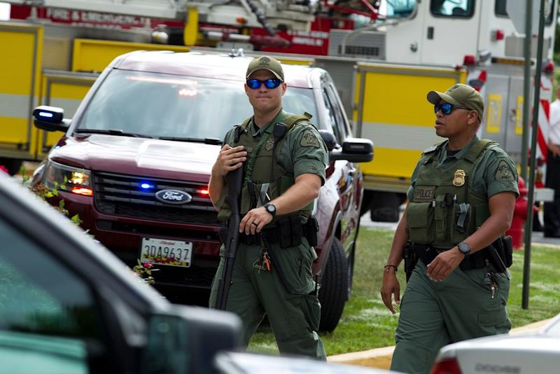 US Newspaper Shooting Suspect Is White Adult Male