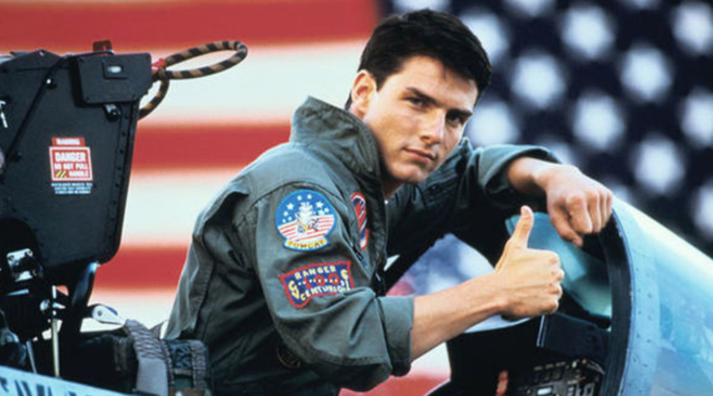Tom Cruise in <em>Top Gun.</em> (Photo: Courtesy of Paramount)