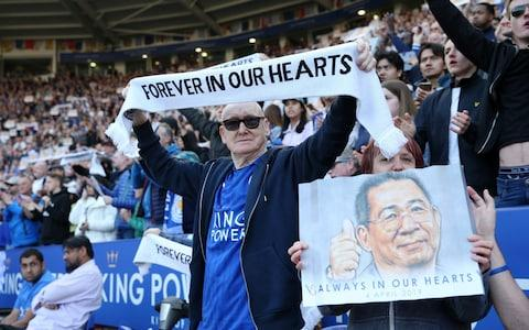 Fans mourn the death of Vichai Srivaddhanaprabha - Credit: Getty images