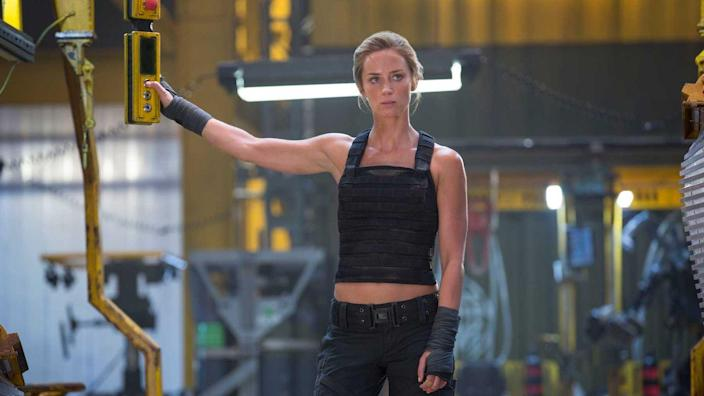 "<p>Celeb trainer Jason Walsh is also responsible for whipping Emily Blunt into butt-kicking shape for <em>Edge Of Tomorrow</em>. <a href=""https://www.womenshealthmag.com/uk/fitness/a701502/jason-walsh-emily-blunt-edge-of-tomorrow/"" rel=""nofollow noopener"" target=""_blank"" data-ylk=""slk:Walsh told Women's Health UK"" class=""link rapid-noclick-resp"">Walsh told <em>Women's Health UK</em></a> that they trained for just two months and included stunt practice, sprints, endurance training, and weighted vest training up to 30 pounds. Her prep even inspired costar Tom Cruise to join in on workouts at times!</p>"