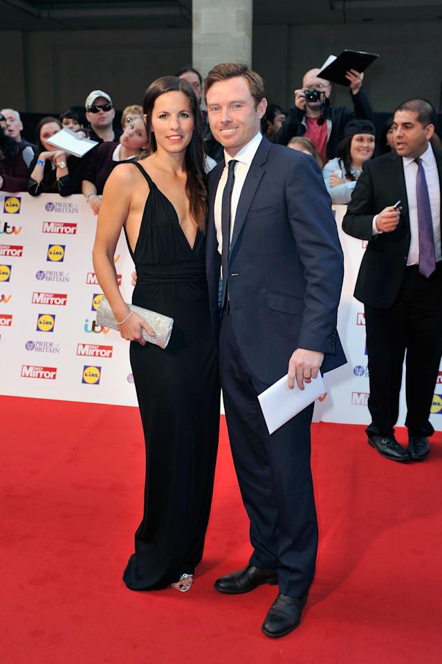 LONDON, ENGLAND - OCTOBER 07: Cricketer Ian Bell and his wife Chantal Louise Bastock attend the Pride of Britain awards at Grosvenor House on October 7, 2013 in London, England.  (Photo by Gareth Cattermole/Getty Images)