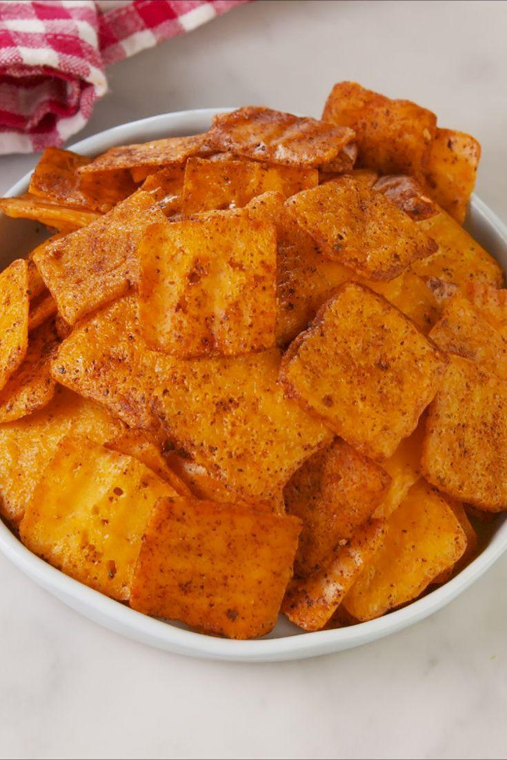 "<p>What if I told you you could turn a single slice of cheese into a cracker? Would you believe me? Well, you should!</p><p>Get the recipe from <a href=""https://www.delish.com/cooking/recipe-ideas/a26558540/nacho-cheese-crisps-recipe/"" rel=""nofollow noopener"" target=""_blank"" data-ylk=""slk:Delish"" class=""link rapid-noclick-resp"">Delish</a>.</p>"