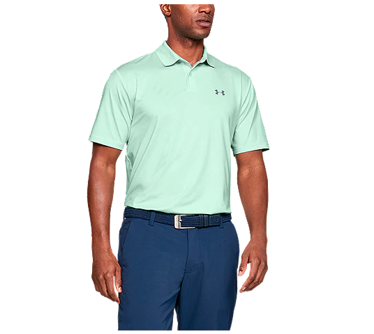 Under Armour polo available in three colours. Image via Sportchek.
