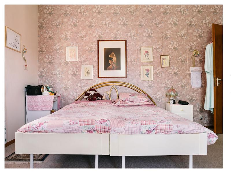 <div>A shot of a pastel pink bedroom won Sabin Cattaneo the top prize in the conceptual category. (Sabine Cattaneo) </div>