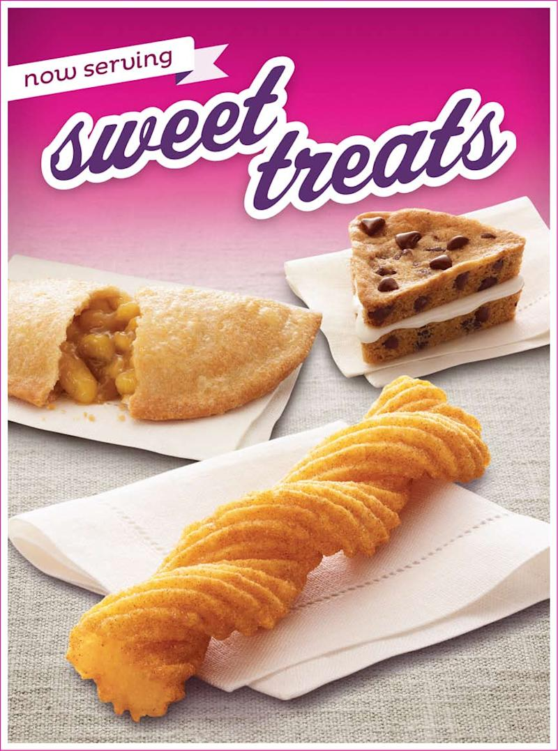 Taco Bell to offer sweets as part of a snacks menu