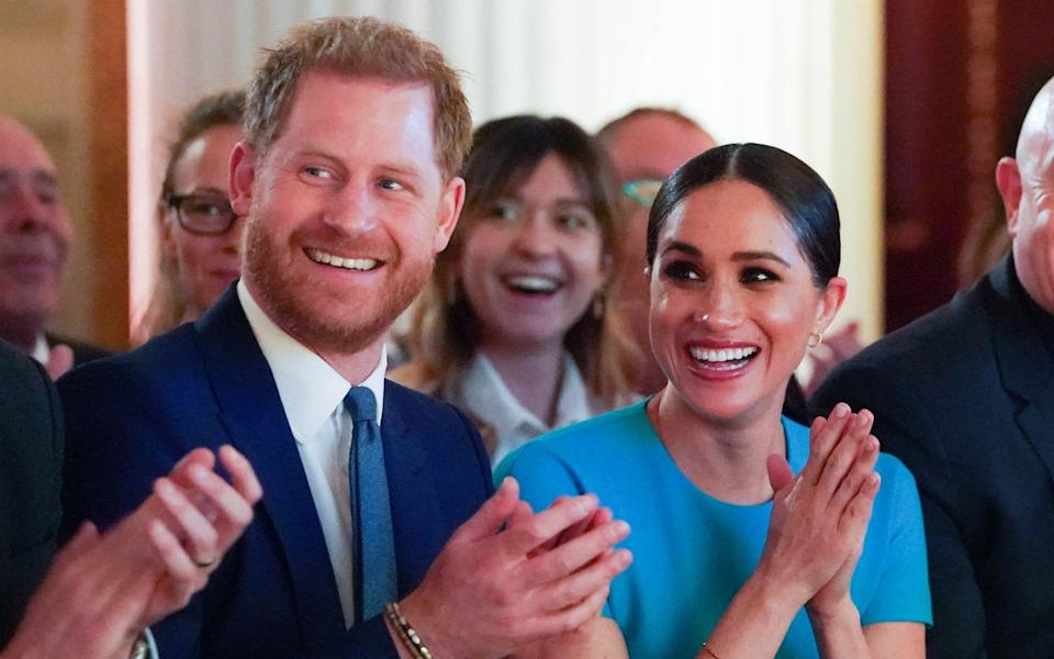 The Duke and Duchess of Sussex have been linked with reports of a reality TV series for Netflix - Paul Edwards/The Sun/PA