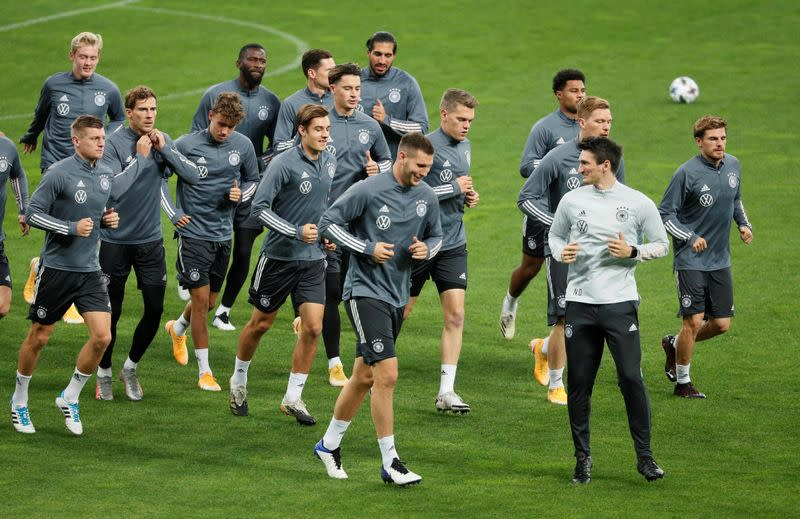 Full-strength Germany eyeing first Nations League win in Ukraine