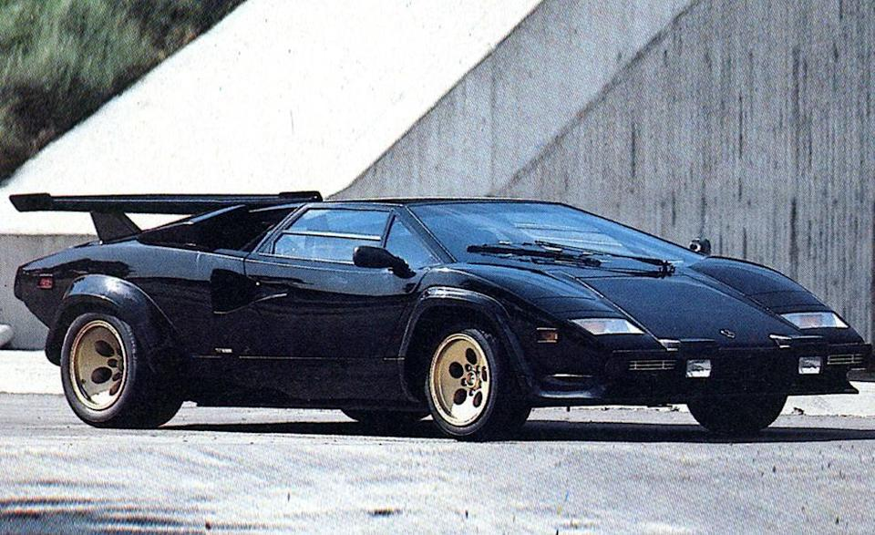 """<p>The later 5000QV models (for <em>quattrovalvole</em>, or """"four valve"""") were adorned with flared fenders and all manner of wings, splitters, and vents, setting the extroverted tone for which we know Lamborghini today, but we always find ourselves drawn to the simpler, earlier models. No matter which Countach you covet, though, it's not hard to see why the model is starting to turn into a serious investment-grade collector car. It's just so <em>cool</em>. <em>—K.C. Colwell</em></p>"""