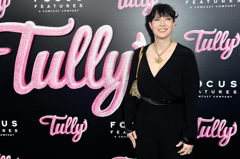 Co-writer: Diablo Clody at the premiere of her 2018 movie Tully (Getty Images)