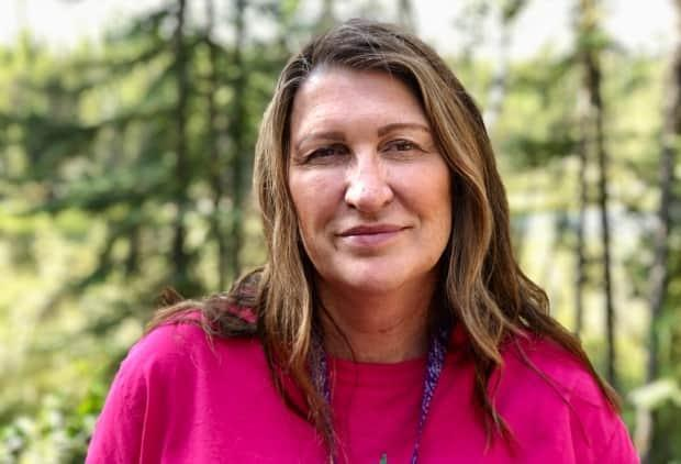 Tammy Roberts is a long-time foster parent and a recipient of a Status of Women Council of N.W.T Wise Woman Award this year. (Kate Kyle/CBC - image credit)