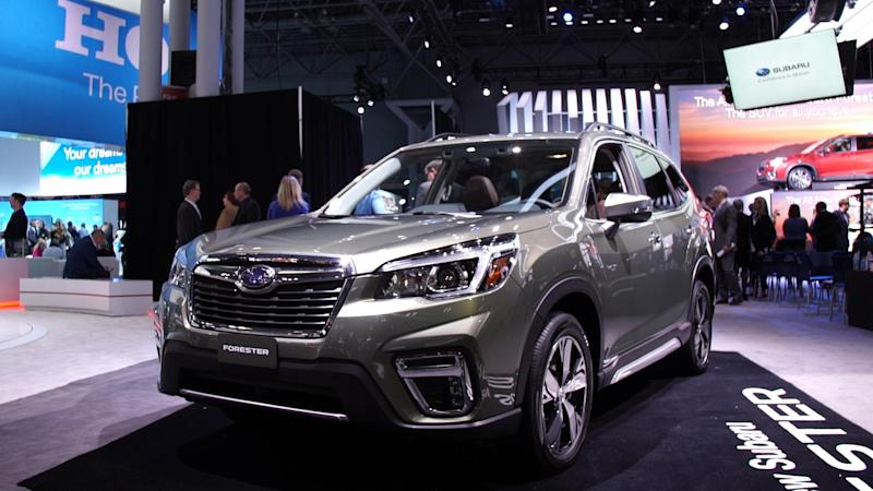 2019 Subaru Forester Gets More Room, More Standard Safety ...