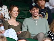 """<p>The pair first sparked dating rumors in March, but <a href=""""https://www.popsugar.com/celebrity/phoebe-dynevor-and-pete-davidson-break-up-48463373"""" class=""""link rapid-noclick-resp"""" rel=""""nofollow noopener"""" target=""""_blank"""" data-ylk=""""slk:reportedly split in August"""">reportedly split in August</a> due to long distance. Phoebe is currently in the UK filming <strong>Bridgerton</strong> season two, while Pete is based in NYC. """"They had fun, but it wasn't sustainable being so far apart,"""" a source told the publication. """"It was great while it lasted, but they both agreed it was best to move on.""""</p>"""