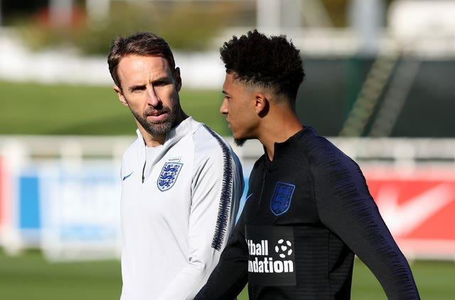 Gareth Southgate has not been concerned with the transfer talk