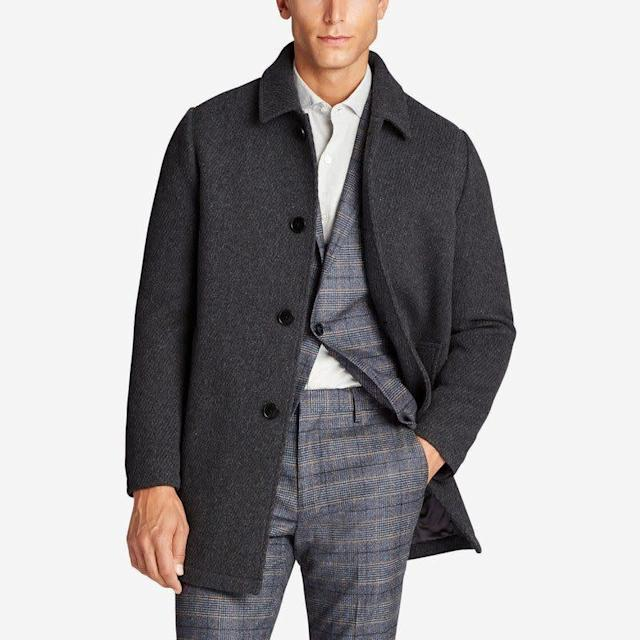 If you're looking for dress shirts, <span>Bonobos</span> has tons to choose from starting at $88 (if you get one on sale, though, it could be as low at $38). The brand also has plenty of chinos for less than $100 and classic wool top coats for under $400.