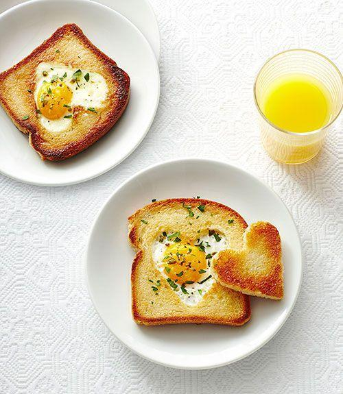 "<p>Tell your kids first thing in the morning how much you love them with this cute riff on an egg in a hole. </p><p><a href=""https://www.womansday.com/food-recipes/food-drinks/recipes/a40385/love-toast-recipe-ghk0215/"" rel=""nofollow noopener"" target=""_blank"" data-ylk=""slk:Get the Love Toast recipe."" class=""link rapid-noclick-resp""><em>Get the Love Toast recipe.</em></a></p>"