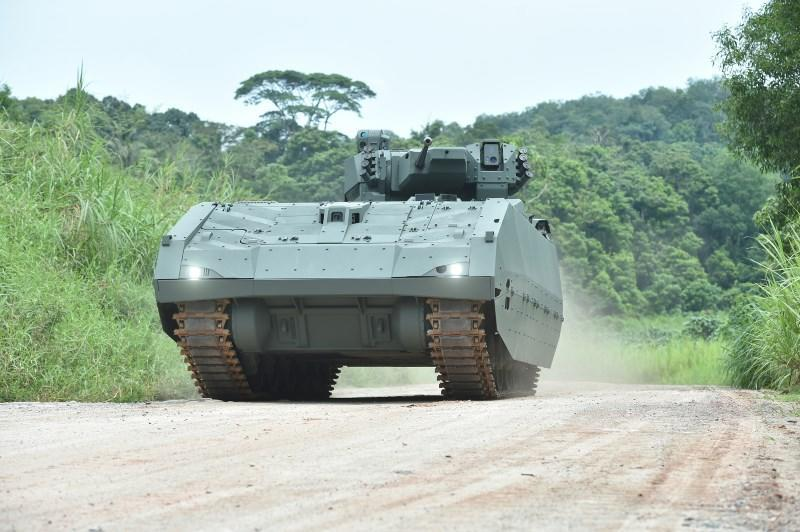 The Army's Next-Generation Armoured Fighting Vehicle. (PHOTO: Mindef)