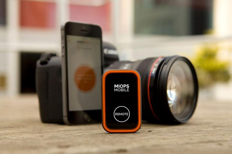 Miops Mobile is a camera remote loaded with features, debuts on Kickstarter