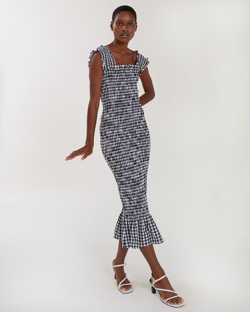 """<p>Handmade to order, this <a href=""""https://www.elle.com/uk/fashion/g26748220/small-female-fashion-brands-to-get-to-know/"""" rel=""""nofollow noopener"""" target=""""_blank"""" data-ylk=""""slk:female-founded brand"""" class=""""link rapid-noclick-resp"""">female-founded brand</a> constructs figure-hugging, adorable, events dresses often featuring ruching, puff sleeves and ice cream hues. The brand keeps waste to a minimum and fashion slow.</p><p><a class=""""link rapid-noclick-resp"""" href=""""https://oliviarosethelabel.com/shop-all/"""" rel=""""nofollow noopener"""" target=""""_blank"""" data-ylk=""""slk:SHOP OLIVIA ROSE THE LABEL NOW"""">SHOP OLIVIA ROSE THE LABEL NOW</a></p>"""