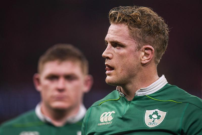 Wales , United Kingdom - 10 March 2017; Jamie Heaslip of Ireland following the RBS Six Nations Rugby Championship match between Wales and Ireland at the Principality Stadium in Cardiff, Wales. (Photo By Stephen McCarthy/Sportsfile via Getty Images)