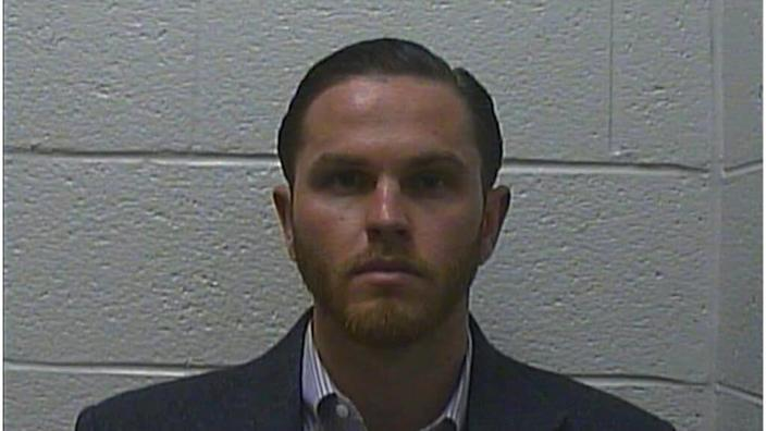 Jared Benjamin Lafer, 27, from Bakersville, North Carolina, allegedly drove his Ford Expedition into demonstrators then fled the scene.