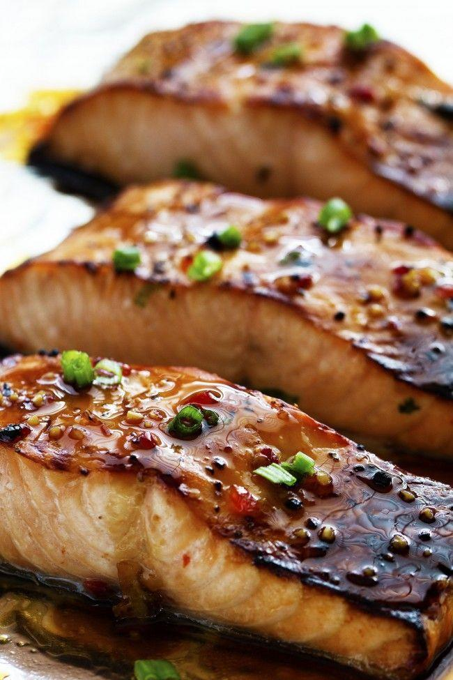 """<p>This caramelized salmon is an instant dinner win.</p><p>Get the recipe from <a href=""""https://therecipecritic.com/2015/02/sweet-chili-garlic-glazed-salmon/"""" rel=""""nofollow noopener"""" target=""""_blank"""" data-ylk=""""slk:The Recipe Critic"""" class=""""link rapid-noclick-resp"""">The Recipe Critic</a>.</p>"""