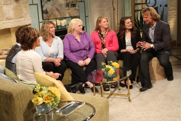 The cast of 'Sister Wives' visits Access Hollywood Live on May 10, 2012 -- Access Hollywood