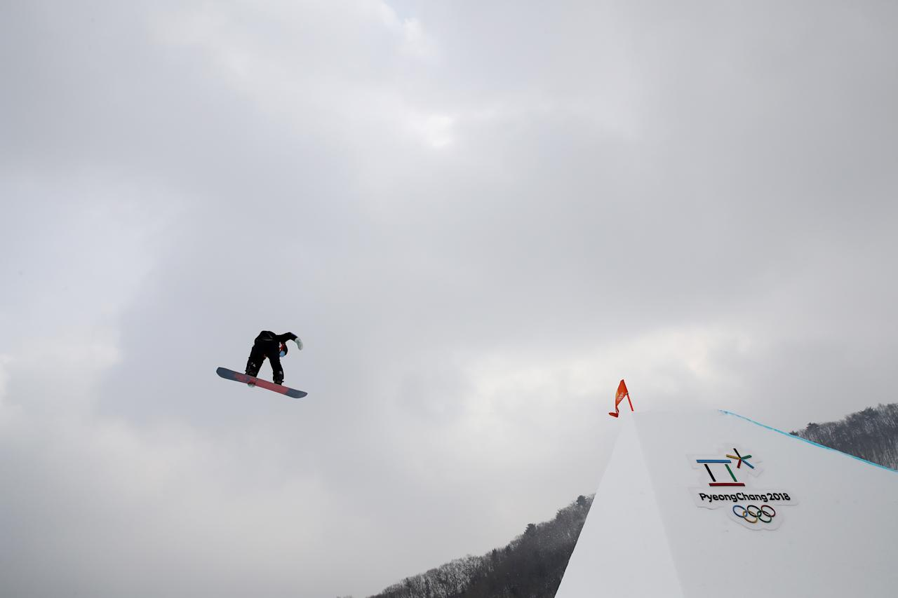 <p>Niklas Mattsson of Sweden competes during the Men's Slopestyle qualification on day one of the PyeongChang 2018 Winter Olympic Games at Phoenix Snow Park on February 10, 2018 in Pyeongchang-gun, South Korea. (Photo by Cameron Spencer/Getty Images) </p>