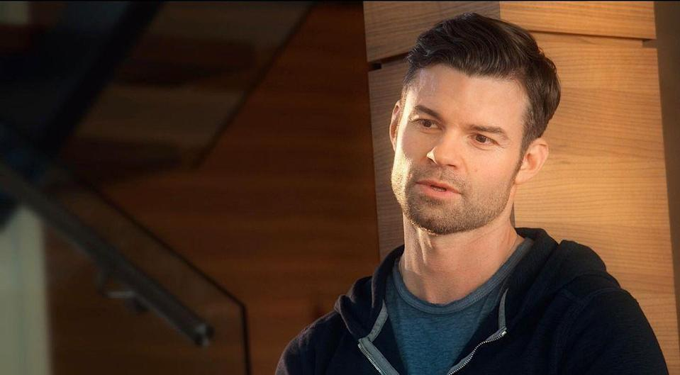 <p>Mel's late husband Mark has only appeared in flashbacks, but without his character there would be no <em>Virgin River.</em> Portrayed by Daniel Gillies, Mark was a successful doctor fighting for his marriage with Mel when he died in a car accident.</p><p>Daniel has recently starred on <em>The Vampire Diaries, </em><em><em>The Originals, </em></em>and<em> <em><em>Saving Hope.</em></em></em></p>