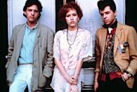 """<p>Oh, hello again, Ms. Ringwald. This time, she's playing Andie, a girl from the less well-to-do side of the tracks who falls for a rich kid played to perfection by Andrew McCarthy—much to the dismay of her loyal BFF, Duckie.</p> <p><em>Available to rent on</em> <a href=""""https://www.amazon.com/gp/video/detail/B001D0BLTA/ref=atv_dl_rdr"""" rel=""""nofollow noopener"""" target=""""_blank"""" data-ylk=""""slk:Amazon Prime Video"""" class=""""link rapid-noclick-resp""""><em>Amazon Prime Video</em></a>.</p>"""