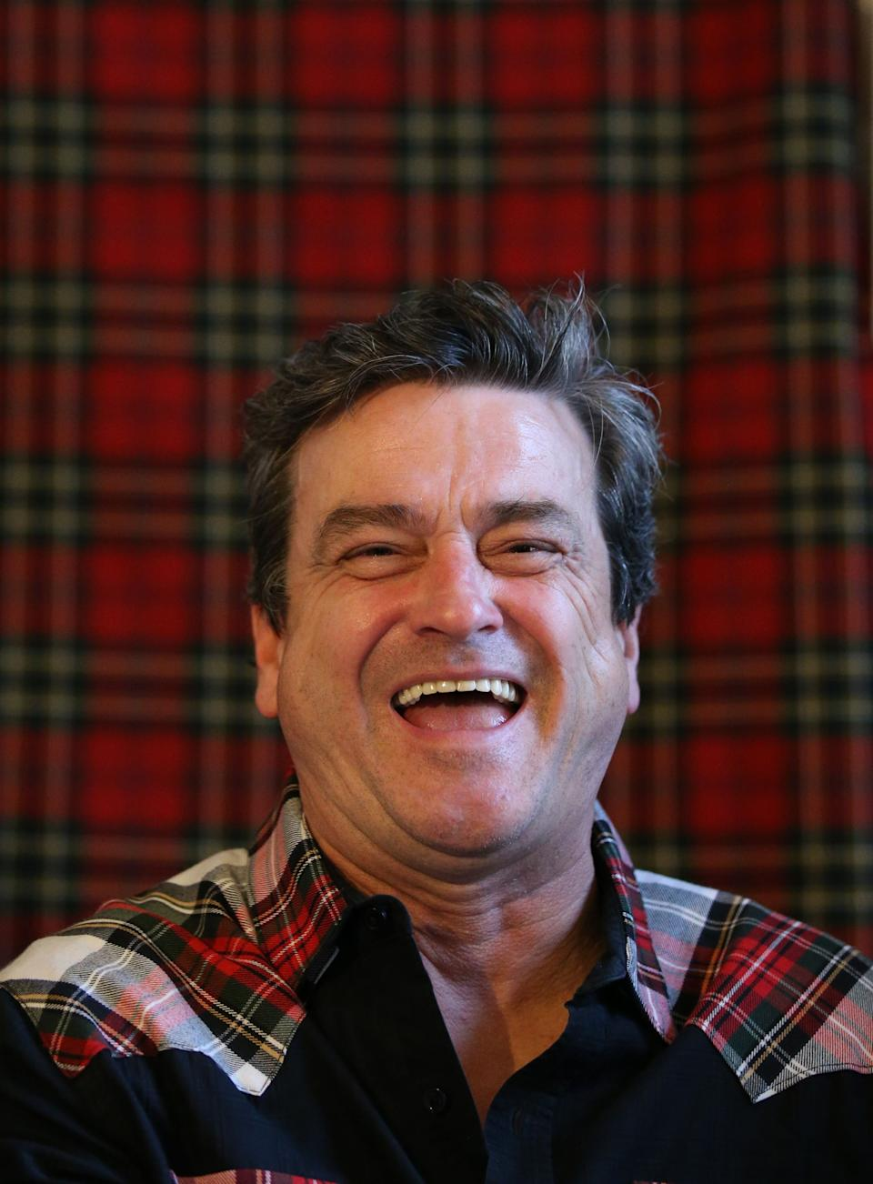 File photo dated 22/09/15 of Bay City Roller Les McKeown during the announcement of the band's reunion at Central Hotel in Glasgow. Bay City Rollers singer Les McKeown has died at the age of 65. Issue date: Thursday April 22, 2021.
