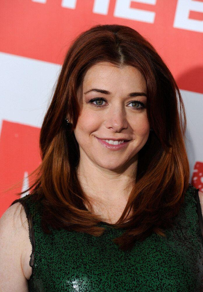 """Actress Alyson Hannigan arrives at the Premiere of Universal Pictures' """"American Reunion"""" at Grauman's Chinese Theatre on March 19, 2012 in Hollywood, California. (Frazer Harrison, Getty Images)"""