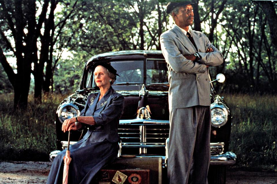 Jessica Tandy and Morgan Freeman in <em>Driving Miss Daisy </em>(Photo: Everett Collection)