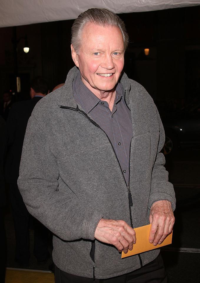"<a href=""http://movies.yahoo.com/movie/contributor/1800018586"">Jon Voight</a> at the Los Angeles premiere of <a href=""http://movies.yahoo.com/movie/1808406490/info"">Watchmen</a> - 03/02/2009"