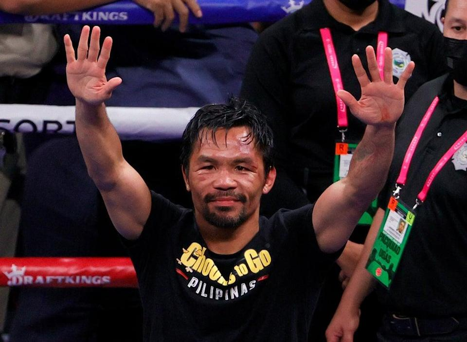 Manny Pacquiao hasn't officially hung up his gloves (Getty Images)