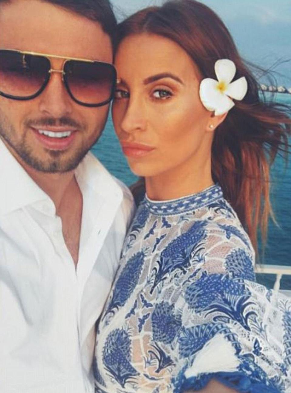 Ferne and Arthur first met in Ibiza last year. Copyright: [Instagram]