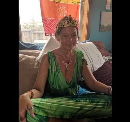 <p>Amy Carlson, 45, whose followers call her 'Mother God'</p> (Fecebook LoveHasWon)
