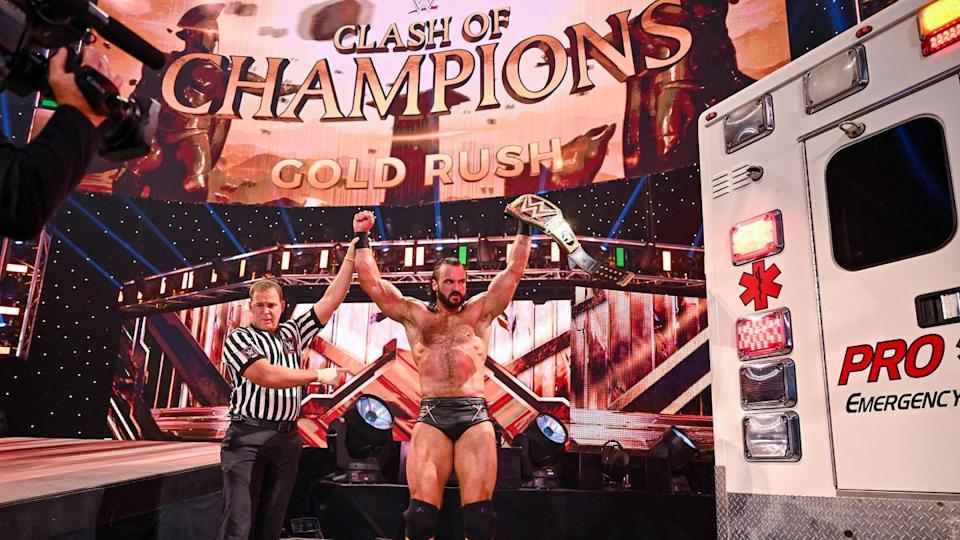 Drew McIntyre defends his title against Randy OrtonWWE