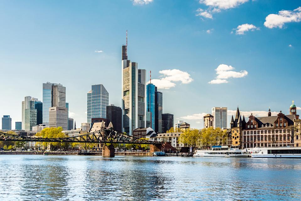 This finance and business centre is a perfect mix of old and new, with its skyscraper-studded skyline and old town Römerberg's charming medieval squares. Median flight price: £200.87. Percentage price change: -40%. <em>[Photo: Getty]</em>
