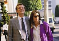 <p>Princess Caroline and Stefano Casiraghi took in the sights of Los Angeles in 1987.</p>