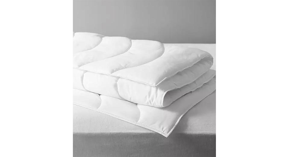 Synthetic Soft Touch Washable Duvet, 4.5 Tog (John Lewis & Partners)