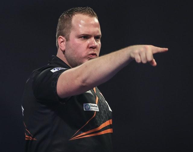 Dirk van Duijvenbode beat Bradley Brooks during day four, to book his place in the second round020/21 – Day Four – Alexandra Palace