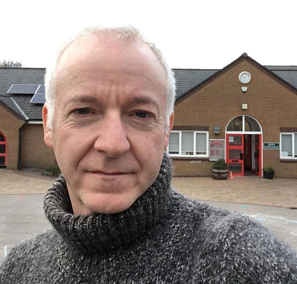 Jim Nicholson, headteacher at Mellor Primary School in Stockport (Photo: Jim Nicholson)